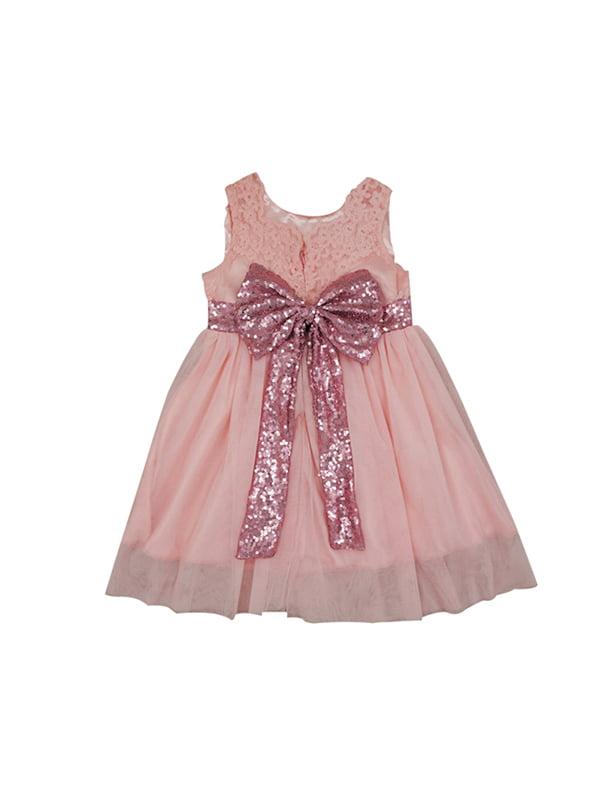 BOBORA Infant Girl Lace Bow Party Princess Tutu Dress