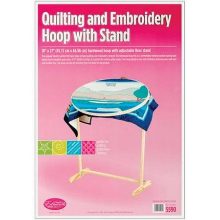 Wood Hoop & Floor Stand (Hinterberg 29 Homestead Quilting Hoop With Floor Stand)