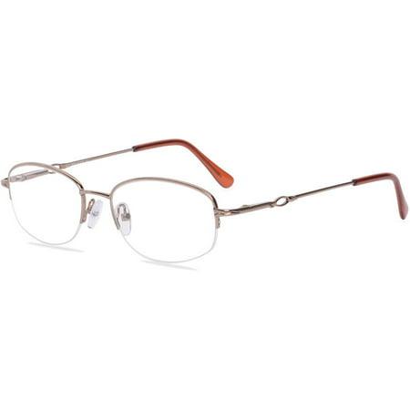 Visage Womens Prescription Glasses, E211 Brown - Walmart.com