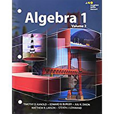 Hmh Algebra 1 : Interactive Student Edition Volume 2 2015