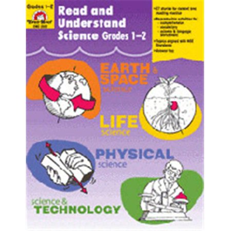 EVAN-MOOR EMC3302 READ AND UNDERSTAND SCIENCE GR  1-2