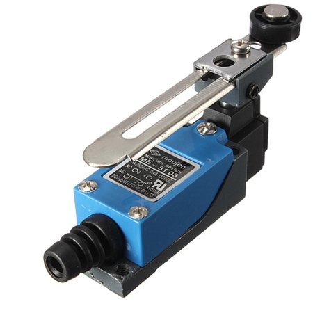 2 x M.way ME-8104 Momentary Actuator Action Rotary Roller Lever Arm 2 AC Limit Switch Adjust - image 3 of 11