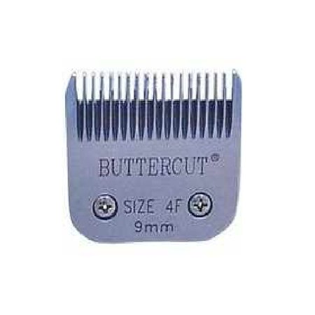 Geib Stainless Steel Buttercut Grooming Blades High Quality Durable Ultra Sharp (# 4F = 3/8