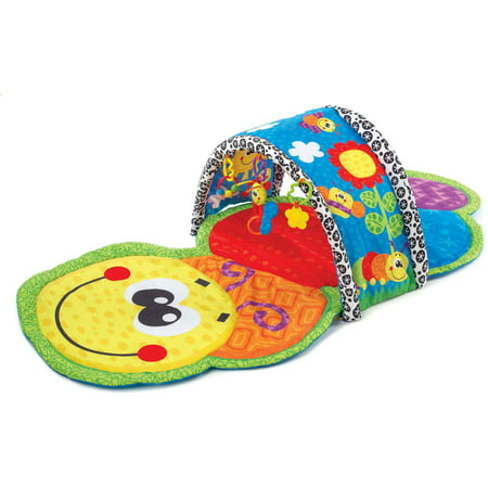Playgro Caterpillar Tunnel Gym for baby infant toddler