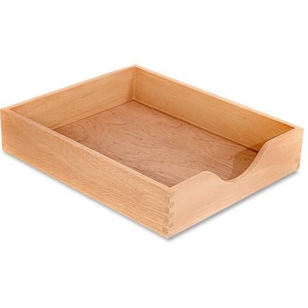 Carver Hardwood Letter Stackable Desk Tray, (Carver Hedberg Letter)