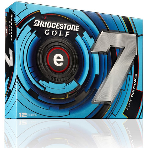 Bridgestone Golf 2013 e7 Golf Balls (Pack of 12), White by Bridgestone
