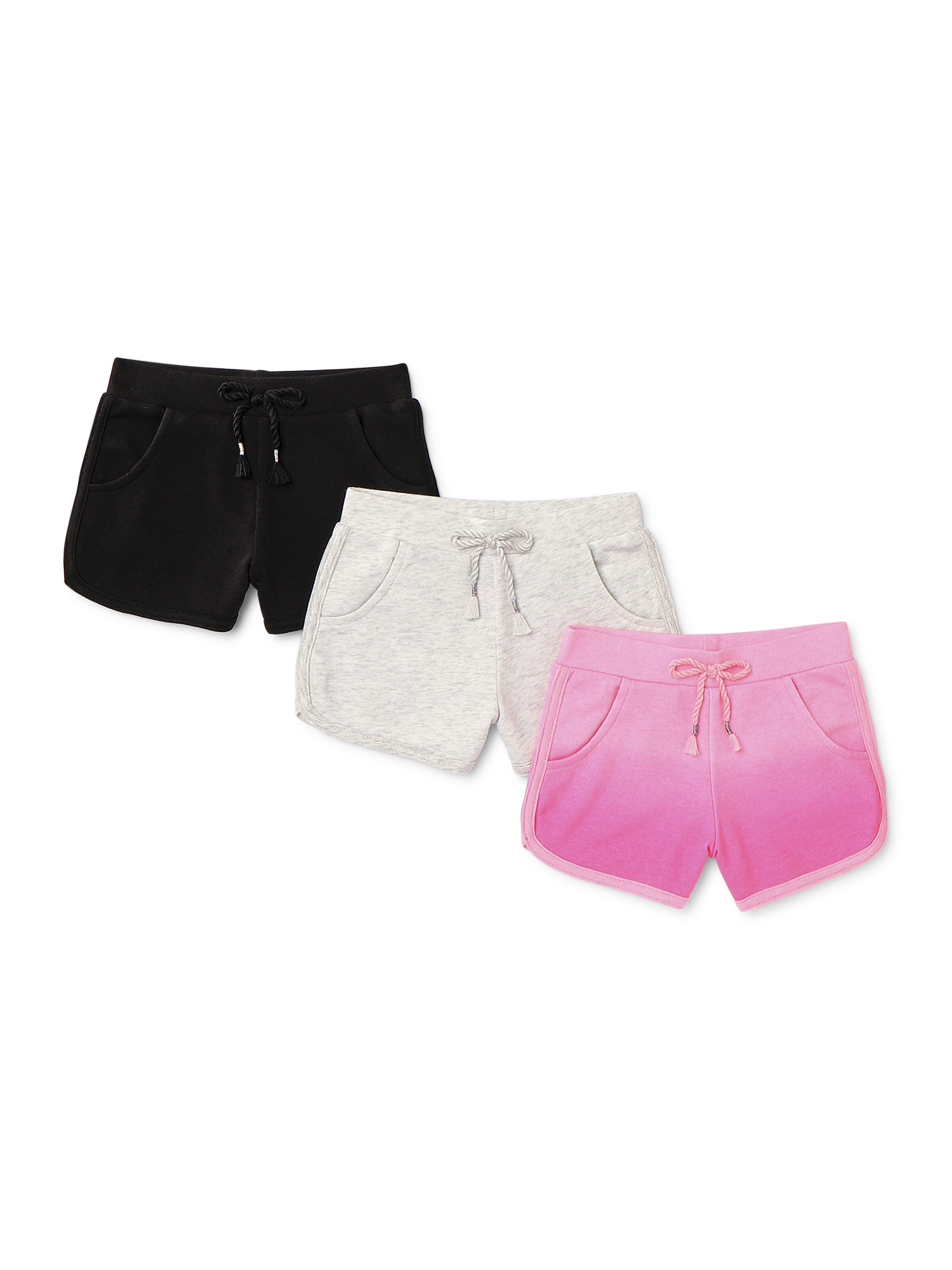 New Wrangler Toddler Girls/' Denim Taylor Shorts