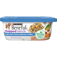 (8 Pack) Purina Beneful Wet Dog Food; Chopped Blends (Multiple Flavors)