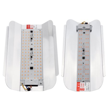 2 Packs 100W LED Hydroponic Grow Light Full Spectrum Outdoor/Indoor, 3000lm Plant Grow Flood Light Growing Lamp for Hydroponics Greenhouse Garden Plant Flower Vegetable - image 2 of 8