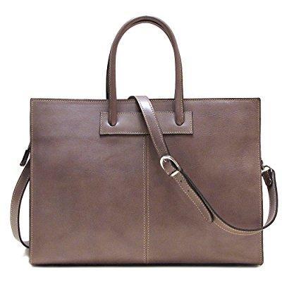FLOTO monteverde bag in grey italian calfskin leather