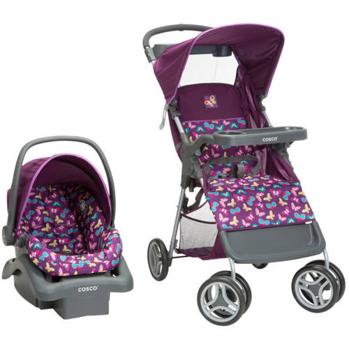Cosco Lift and Stroll Travel System, Butterfly Twirl