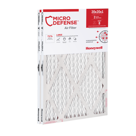 Honeywell 20x20x1 Air Filter Standard Efficiency,