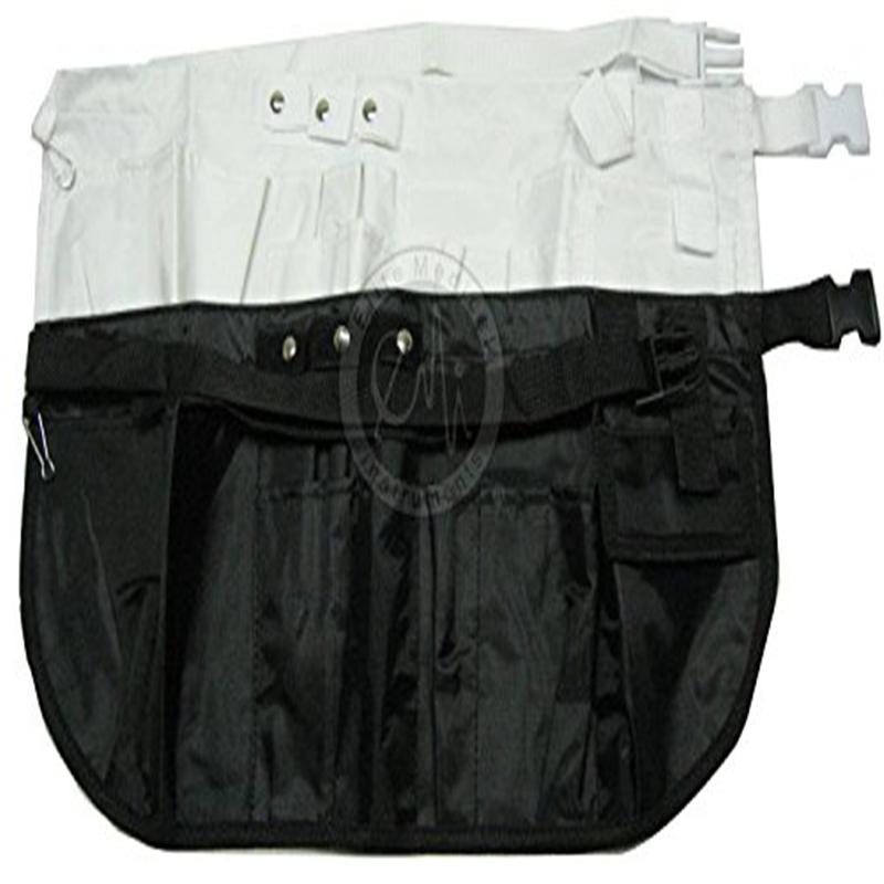 EMI BLACK Nylon Medical Nurse Apron Organizer Belt - Size Large