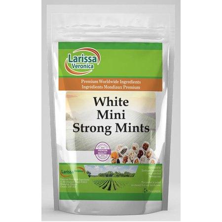 White Mini Strong Mints (8 oz, ZIN: - Strong Mints