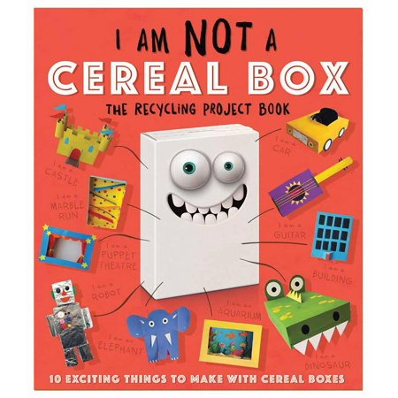 I Am Not a Cereal Box : 10 Exciting Things to Make with Cereal Boxes for $<!---->