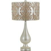 "Stardust Table Lamp-Laser Cut Shade, 1-100W Standard Bulb, 29.5""HX16""D"