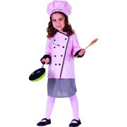 master girl chef costume - size toddler 2
