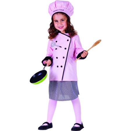 Dress Up America Master Girl Chef Costume - Chef And Baby Lobster Costume