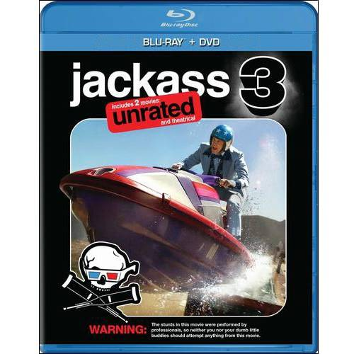 Jackass 3 (Unrated/Rated) (3D + Blu-ray + DVD + Digital HD) (Widescreen)