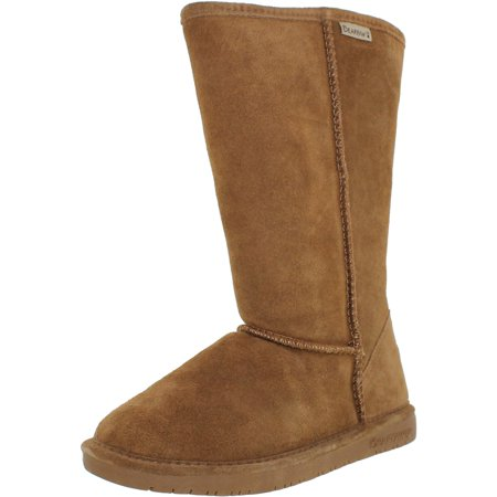 Bearpaw Women's Emma Tall Hickory Knee-High Sheepskin Boot - 9M
