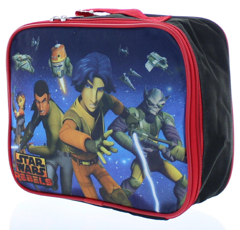 Star Wars Rebels Insulated Lunch Bag Lunch Box Walmart Com