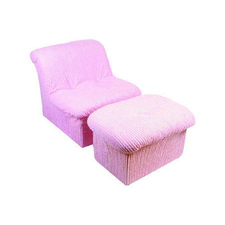 Fun Furnishings Teen Cloud Chair Ottoman Multiple
