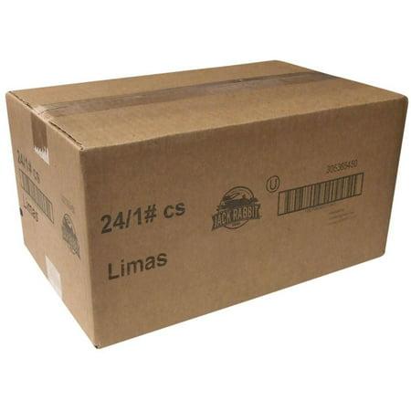 Baby Lima Beans (24 PACKS : Jack Rabbit Baby Lima Beans - 1 lb. bag.)