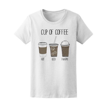 Cup Of Coffee Hot Iced Frappe Tee Women's -Image by Shutterstock](New Halloween Frappe)