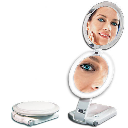 ULT111 Ultimate Lighted Make-Up Mirror, 1X/10X Magnification