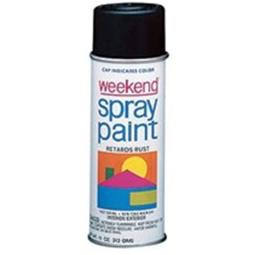 Krylon 425-K358 11 oz.  Gloss Black Weekend Spray Paint