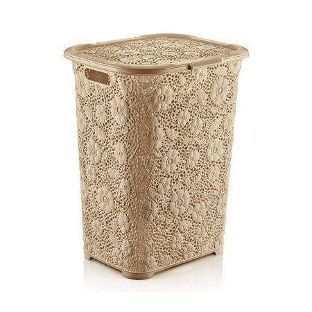Superio Laundry Hamper Lace collection 1.42 Bushel (Beige) ()