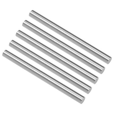 HSS Lathe Round Rod Solid Bar 7.9mm Dia 100mm Length 5Pcs - image 3 de 3