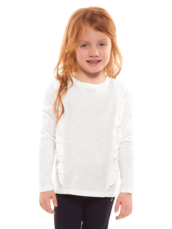 Little Girl's Long-Sleeve Ruffled Top