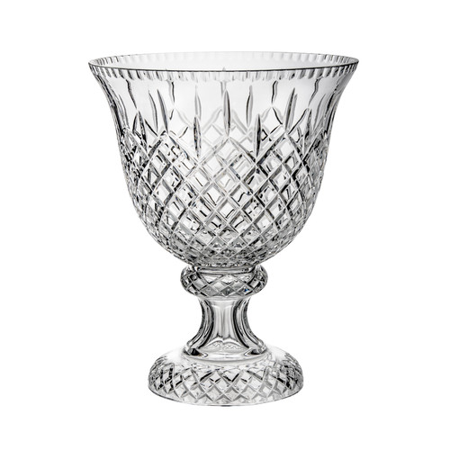 Majestic Crystal Footed Decorative Bowl
