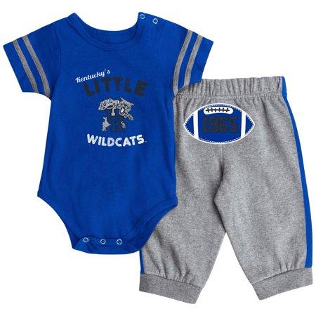Kentucky Wildcats UK Baby Bodysuit and Pant Set