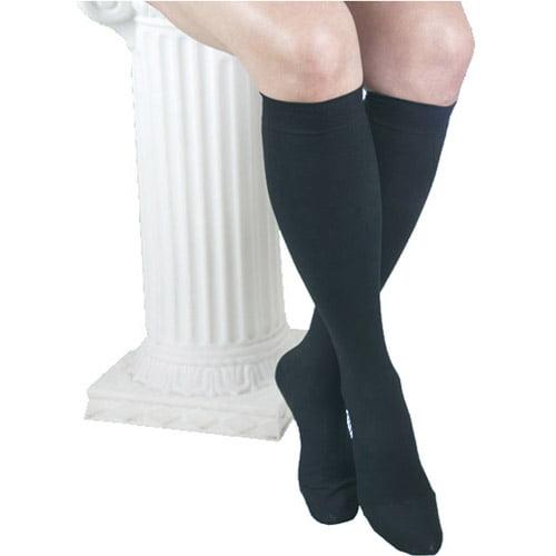 25-35 mmHg ITA-MED Microfiber Knee Highs Compression : H-304
