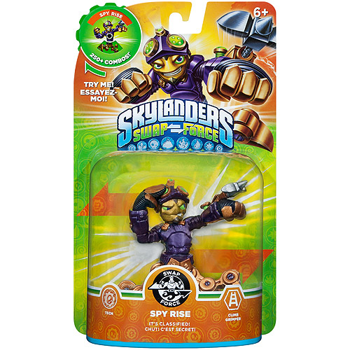 Skylanders Swap Force Swappable Spy Rise Figure Pack