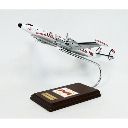 Daron Worldwide Lockheed Constellation TWA Super G Model Airplane
