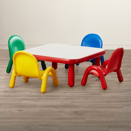 7c94ae11df64 Angeles BaseLine Kids 5 Piece Writing Table and Chair Set - Walmart.com