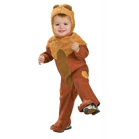 Costumes For All Occasions Ru885769I Cowardly Lion Infant 6-12 Mos