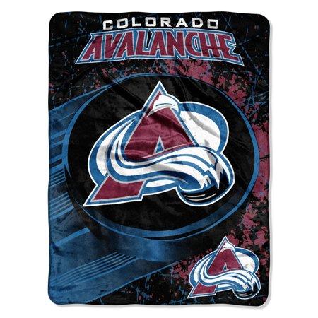 THE NORTHWEST COMPANY COLORADO AVALANCHE ICE DASH MICRO RASCHEL THROW BLANKET Colorado State University Blanket
