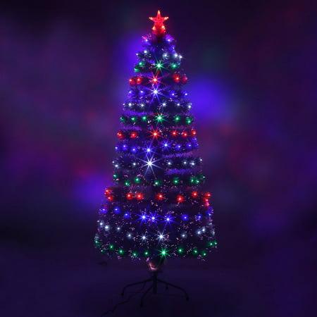 LED Fiber Optic Christmas Tree Color Changing Artificial Chrismas Tree - LED Fiber Optic Christmas Tree Color Changing Artificial Chrismas