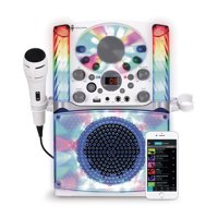 Singing Machine SML625BTW Bluetooth CD+G Karaoke System
