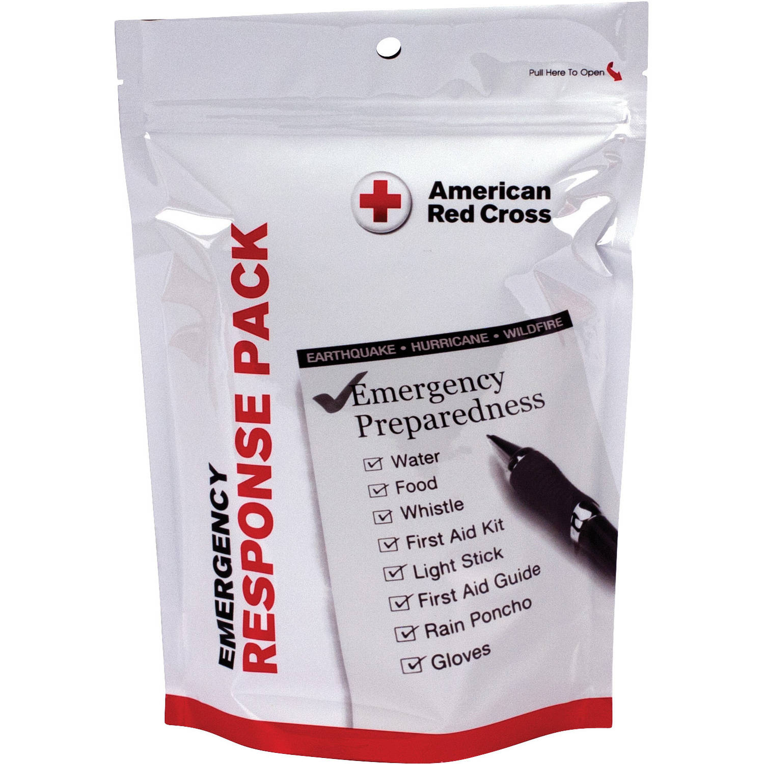 American Red Cross Emergency Response Pack, 29 pc