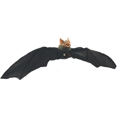 Electronic Hanging Bat Halloween Accessory - Halloween Playlist Electronic