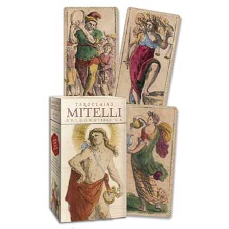 Fortune Telling Tarot Cards Mitelli Tarocchino Deck circa 1660 Renaissance Historical Limited Ed - Mysterious Fortune Cards