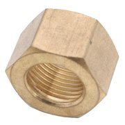 710061-10 Brass Compression Nut, Lead-Free, 5/8-In., 2-Pk. - Quantity 1