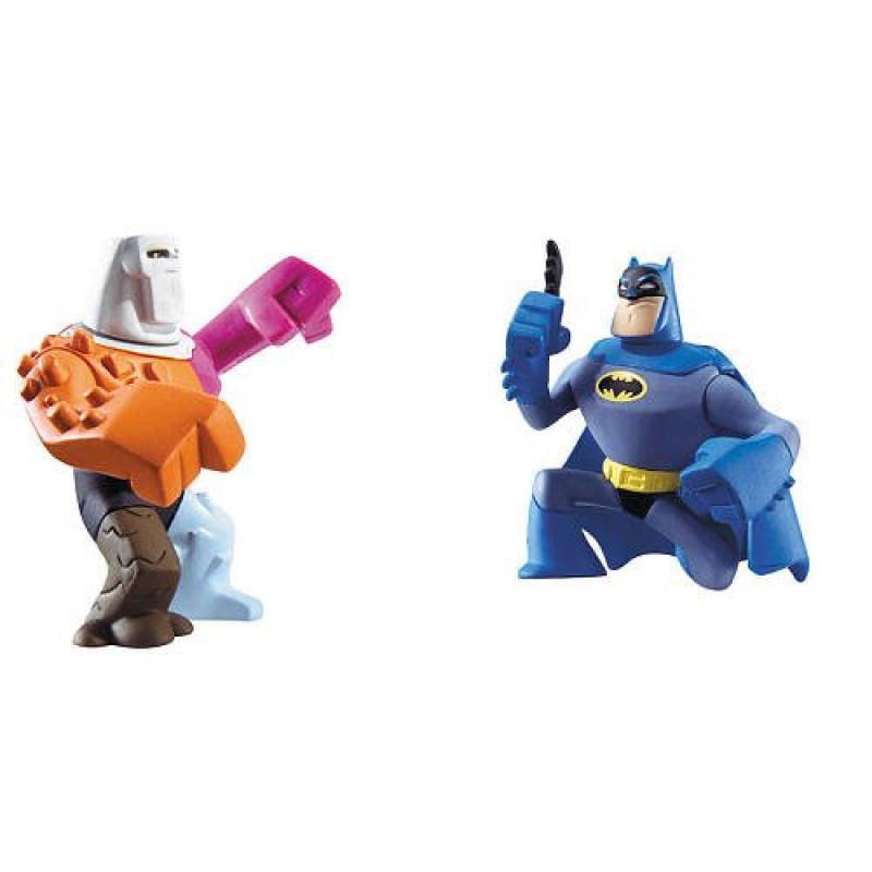DC Batman Brave and the Bold Action League Mini Figure 2-Pack Batman and Rex Mason The Element Man by