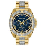 Bulova Men's Crystal Watch with Multi-Function Dial