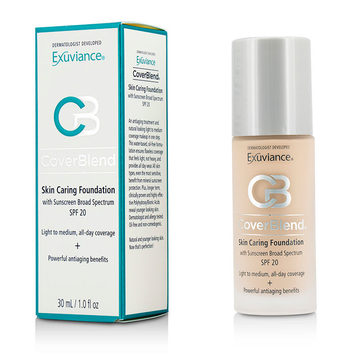 Exuviance - CoverBlend Skin Caring Foundation SPF20 # Bisque - 30ml/1oz
